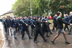 Wincanton poppy parade