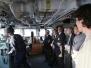 Chard branch visit HMS Somerset 2017