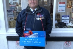 Falmouth Chairman Poppy Appeal collection