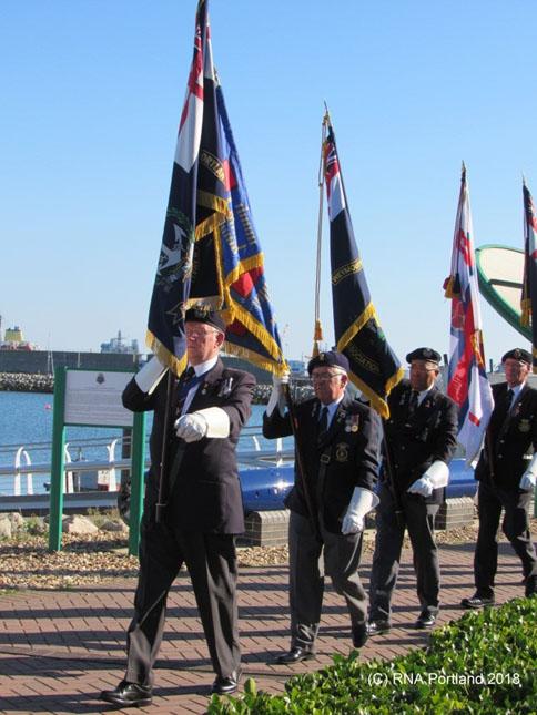 HMS Illustrious Association Memorial Ceremony3