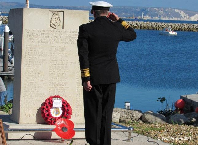 HMS Illustrious Association Memorial Ceremony4