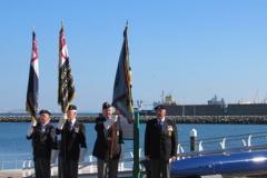 HMS Illustrious Association Memorial Ceremony2