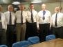 Portland Branch visit HMS Portland 2017