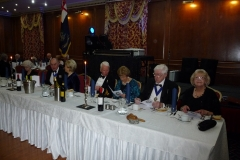 Reunion 2018 top table